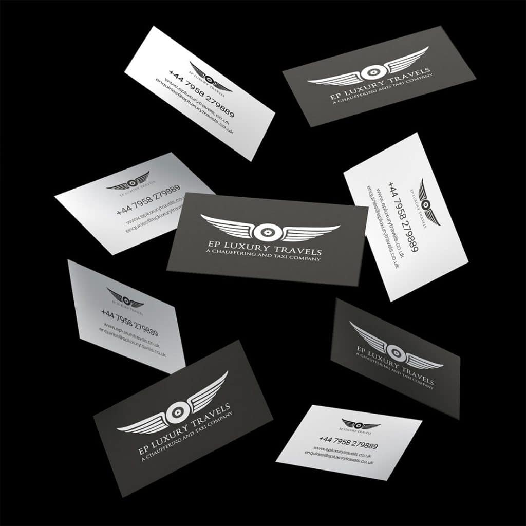EP Luxury Travels Business Cards