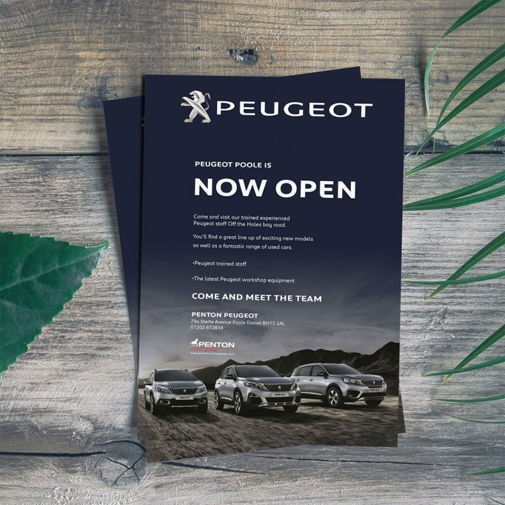 Peugeot Flyers for Penton Motor Group
